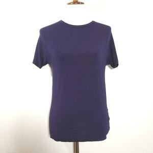 VERSACE Vintage Unisex Purple Tee Shirt